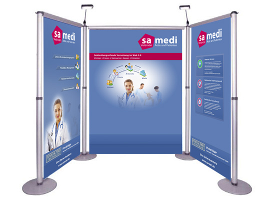 Messestand Medizinmesse Medica